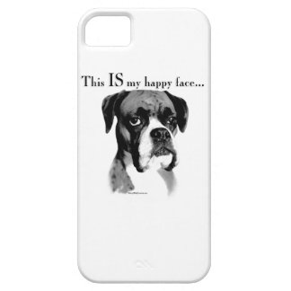Boxer Happy Face iPhone 5 Cover