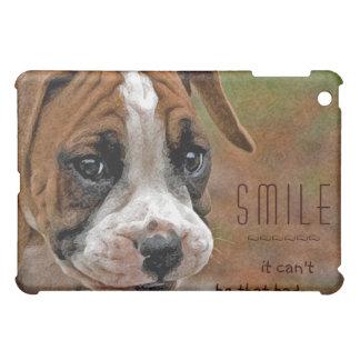 Boxer Happy, Smiling Dog Artistic Photo Ipad Case