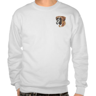 Boxer Head Pull Over Sweatshirt