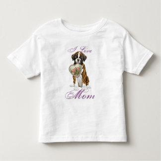 Boxer Heart Mom Toddler T-shirt
