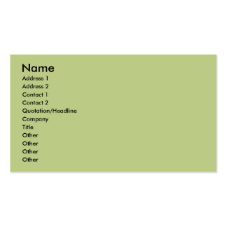 Boxer - Helicopter Mom Business Card