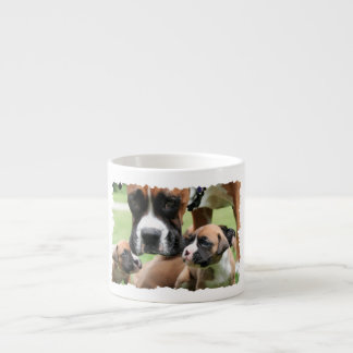Boxer - Helicopter Mom Espresso Cup
