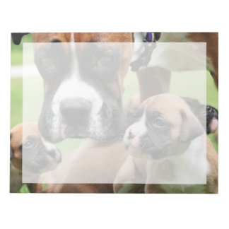 Boxer - Helicopter Mom Notepad