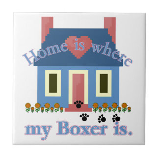 Boxer Home Is Ceramic Tile
