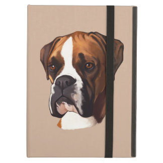 Boxer in Portrait iPad Air Cover