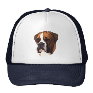 Boxer in Portrait Trucker Hat