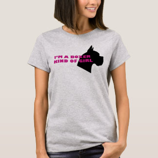 Boxer kind of girl T-Shirt