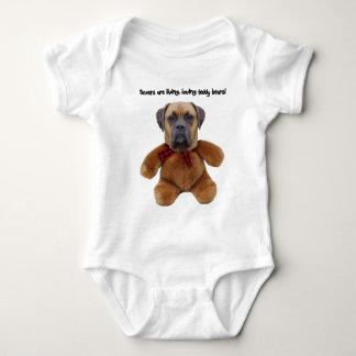 Boxer: Living, Loving Teddy Bears Baby Bodysuit