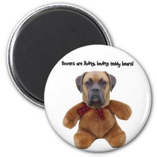 Boxer: Living, Loving Teddy Bears Magnet