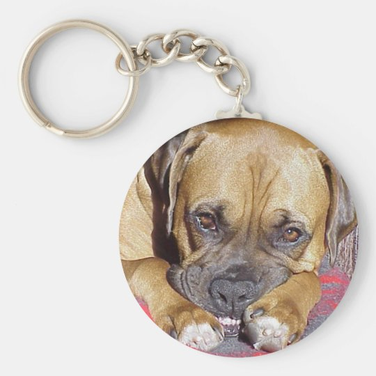Boxer:  Look Ma, No Cavities Keychain