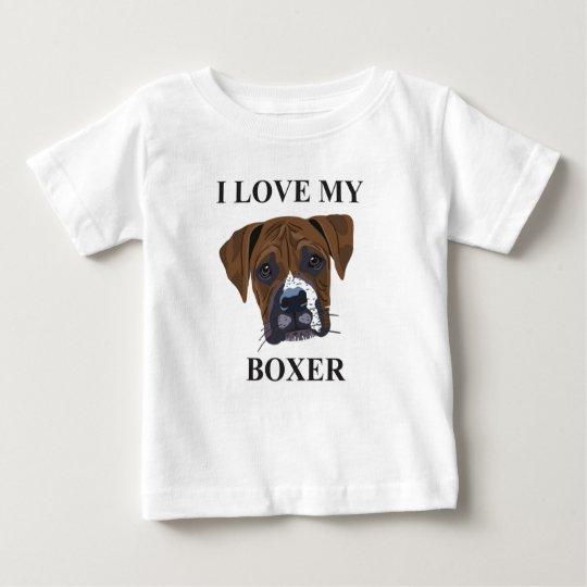 Boxer Love Baby T-Shirt