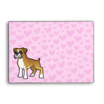 Boxer Love Envelope