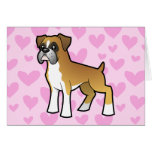 Boxer Love Greeting Cards