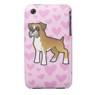 Boxer Love iPhone 3 Case-Mate Case