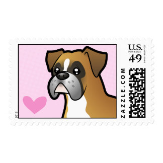 Boxer Love Stamps