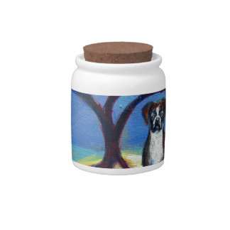 Boxer love spiritual tree candy jars