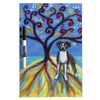 Boxer love spiritual tree dry erase whiteboards