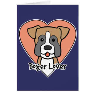 Boxer Lover Cards