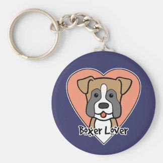 Boxer Lover Keychain