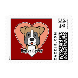 Boxer Lover Postage
