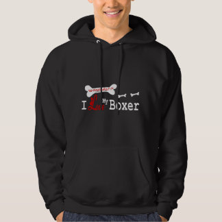 Boxer Lovers Gifts Hoodie
