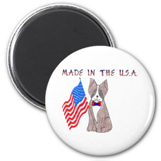 Boxer Made In The USA Magnet