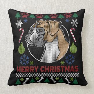 Boxer Merry Christmas Ugly
