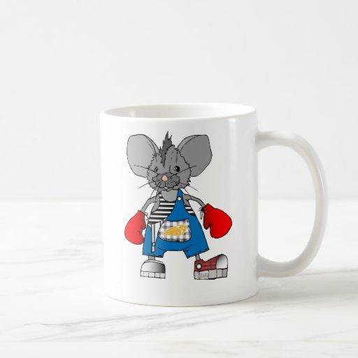 Boxer Mice Mike Mouse Mug