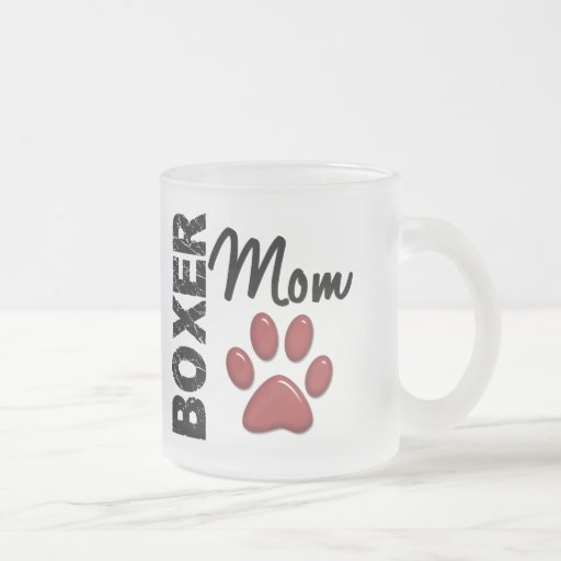 Boxer Mom 2 Coffee Mug