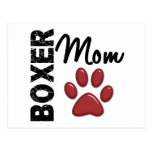Boxer Mom 2 Post Card