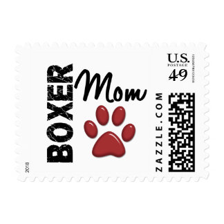 Boxer Mom 2 Stamps