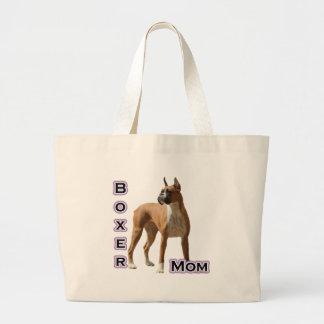 Boxer Mom 4 Tote Bags