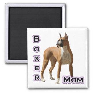 Boxer Mom 4 - Magnet