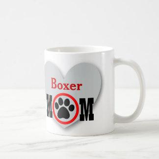 Boxer Mom Dog Lover Gift B02 Coffee Mug
