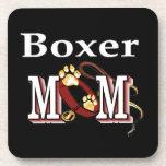 Boxer Mom Drink Coasters
