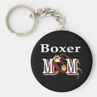 boxer mom Keychain