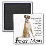Boxer Mom Magnet Fridge Magnets