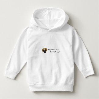 boxer-more dog breeds hoodie