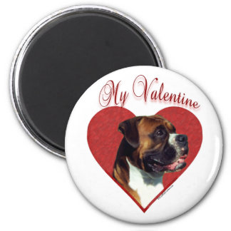 Boxer My Valentine - Magnet