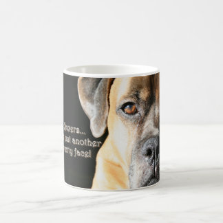 Boxer:  Not Just Another Pretty Face Coffee Mug