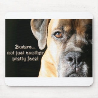 Boxer:  Not Just Another Pretty Face Mousepads