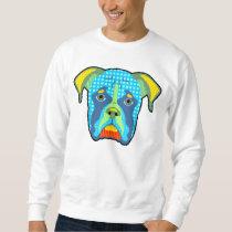 Boxer Pattern Pop Art Sweatshirt
