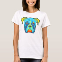 Boxer Pattern Pop Art T-Shirt