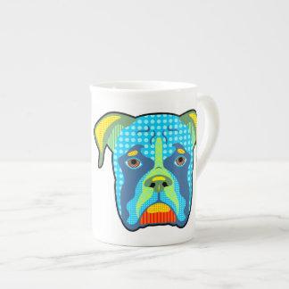 Boxer Pattern Pop Art Tea Cup