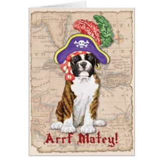 Boxer Pirate Card