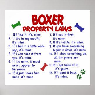 BOXER PL2 POSTER