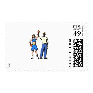 boxer postage stamp