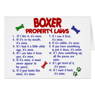 Boxer Property Laws 2 Card
