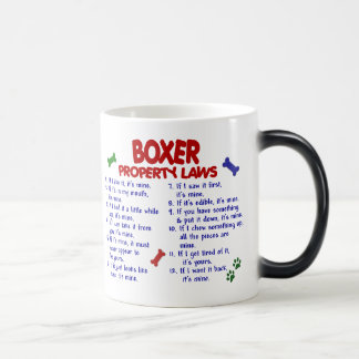 Boxer Property Laws 2 Magic Mug