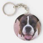Boxer Pup Keychain